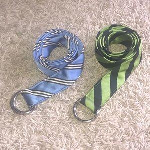 J crew tie belts